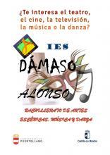 Implantación del Bachillerato de Artes Escénicas, Música y Danza en el Dámaso
