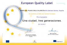 Sello de Calidad Europeo eTwinning